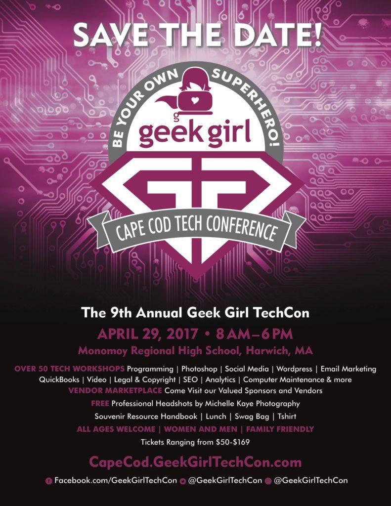 GeekGirlTechCon Cape Cod 2017