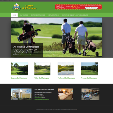 Website: Stay and Play Cape Cod