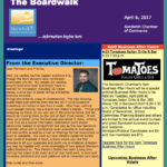 Business Profile in Sandwich Chamber Newsletter