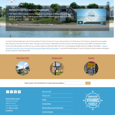 Website: Greater Hyannis Chamber of Commerce