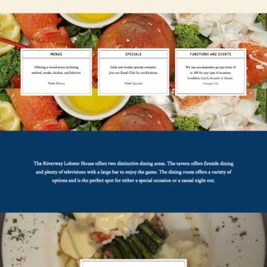 Website: Riverway Lobster House Restaurant
